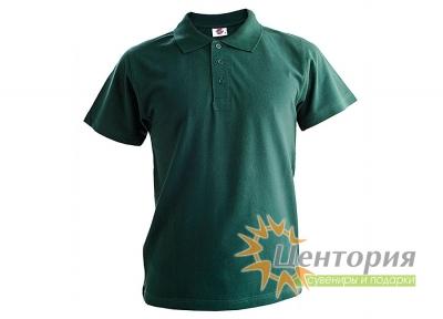 Рубашка Поло, темно-зеленая