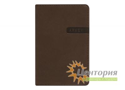 Записная книжка 8х12см Rams коричневая