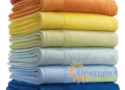 Полотенца махровые «Репаблик», производство Европа