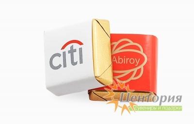 Шоколад с логотипом 10 гр.