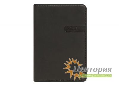Записная книжка 8х12см Rams черная