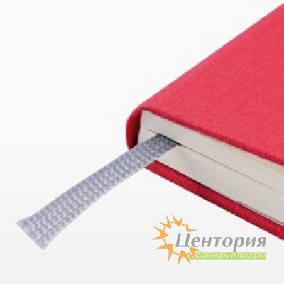 Записная книжка 10,7х16см Laur серая