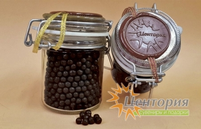 Шоколадная икра (темный Шоколад) 90 грамм