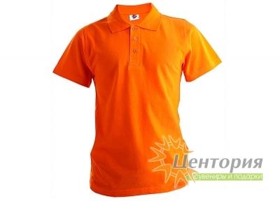 Рубашка Поло, оранжевая
