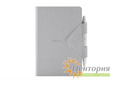 Записная книжка 10,7х15,5см Idea Box серая