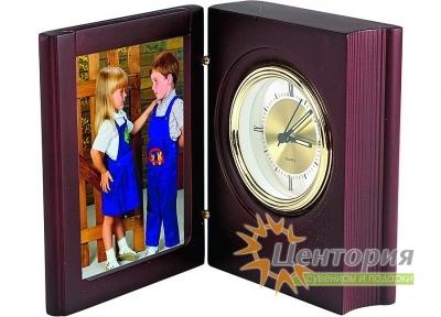 Часы с рамкой для фотографии 8х10 см