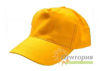 Бейсболка, желтая