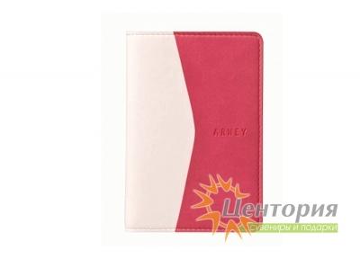 Записная книжка 8х12см Moura розово-белая