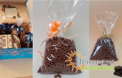 Шоколадная икра. Молочный Шоколад. 160 грамм