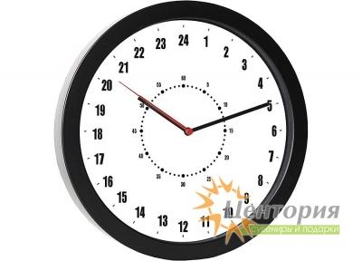 Часы настенные с 24-часовым циферблатом