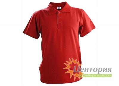 Рубашка Поло, бордовая