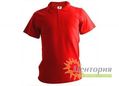 Рубашка Поло, красная