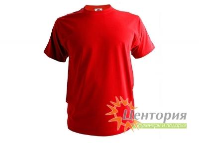 Футболка мужская, бордовая