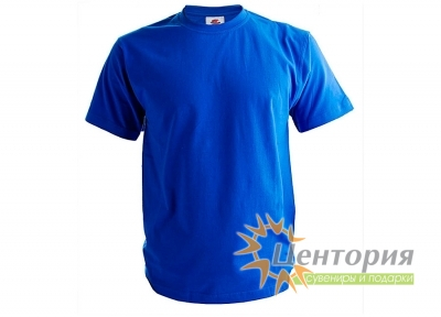 Футболка мужская, синяя