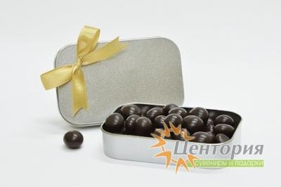 Шоколадное драже со вкусом апельсина