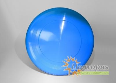 Тарелка фрисби голубая