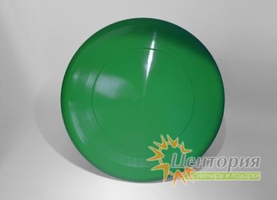 Тарелка фрисби зеленая