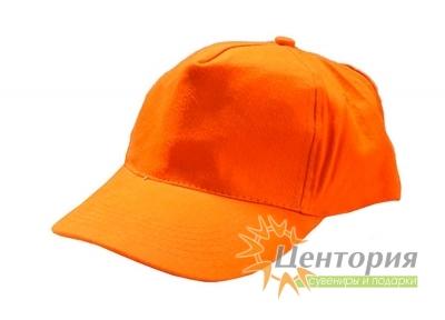 Бейсболка, оранжевая