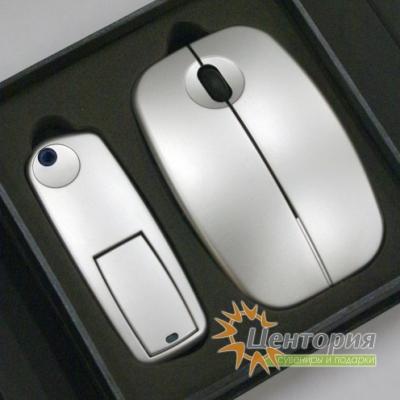Беспроводная оптическая мышь с памятью Set-130