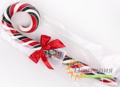 Рождественская карамельная трость, малая и большая