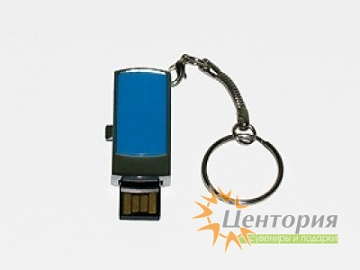 Выдвижная мини-флешка с кольцом