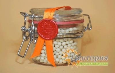 Шоколадная икра.Белый Шоколад. 110 грамм
