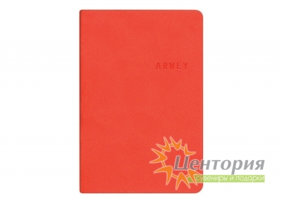 Записная книжка 8х12см Kline красная