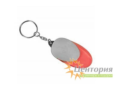 "Брелок-фонарик ""Овал"", цвет оранжевый"