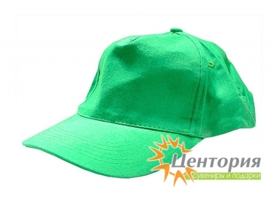 Бейсболка, зеленая