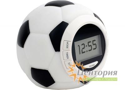 Часы настольные «Футбольный мяч»