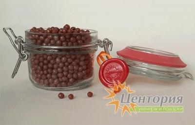 Шоколадная икра. Молочный Шоколад. 110 грамм