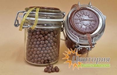 Шоколадная икра (молочный Шоколад) 90 грамм