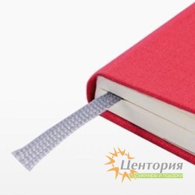 Записная книжка 10,7х16см Laur красная