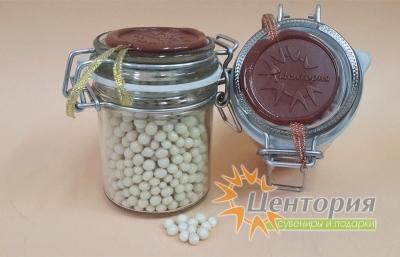 Шоколадная икра  (белый Шоколад) 90 грамм