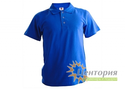 Рубашка Поло, синяя