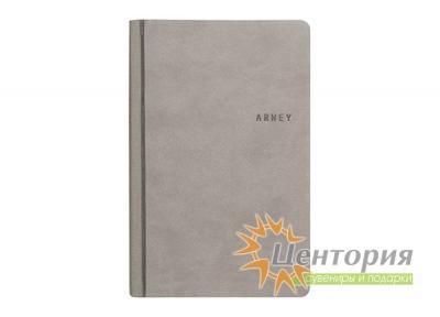 Записная книжка 10,7х16см Andre серая