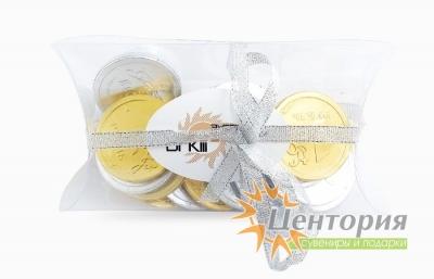 Шоколадные медали в подушке 20 штук 120 гр.