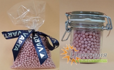 Шоколадная икра розовая (цветной Шоколад) 90 грамм
