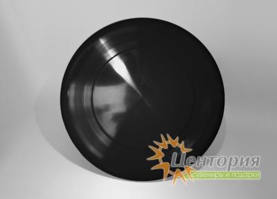 Тарелка фрисби черная