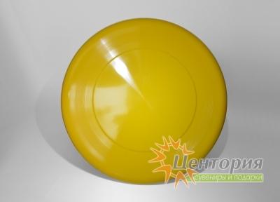 Тарелка фрисби желтая
